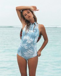 1mm Salty Dayz - Sleeveless Springsuit for Women  S42G58BIP0