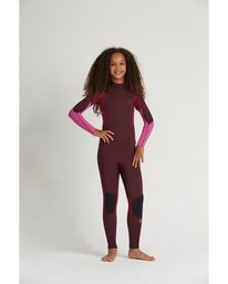 3/2mm Synergy FL - Back Zip Wetsuit for Teen Girls  S43B52BIP0