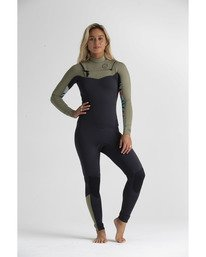 3/2mm Salty Dayz - Chest Zip Wetsuit for Women  S43G51BIP0