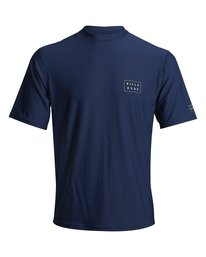 Die Cut - Short Sleeve UPF 50 Rash Vest for Men  S4MY09BIP0