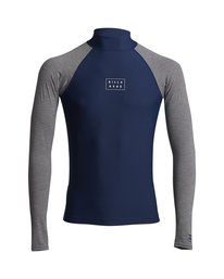Contrast - Long Sleeve UPF 50 Rash Vest for Men  S4MY14BIP0