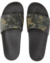 Poolslide Corp - Faux Leather Sandals for Men  S5FF22BIP0
