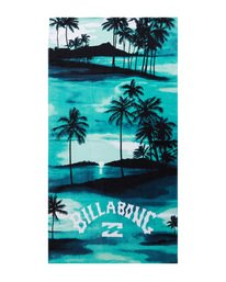 Waves - Printed Beach Towel for Men  S5TO01BIP0