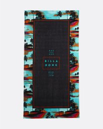 Tucked - Printed Cotton Velour Towel for Men  S5TO02BIP0