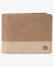 Dimension - Faux Leather Wallet for Men  S5WM07BIP0