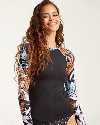 Tropic Moon - Long Sleeve UPF 50 Rash Vest for Women  T3GY05BIMU