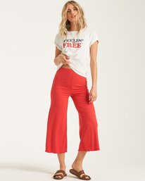 Easy Waves - Cropped Trousers for Women  T3PT10BIS0
