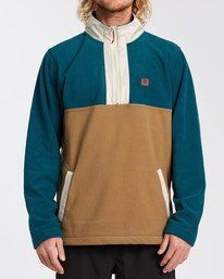 Adventure Division Collection Boundary Mock Lite - Mock Neck Fleece for Men  U1FL29BIF0