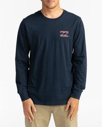 Crayon Wave - Long Sleeve T-Shirt for Men  U1LS26BIF0