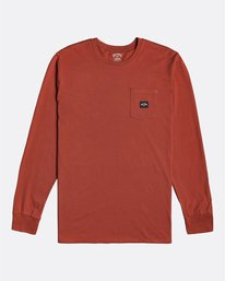 Stacked - Long Sleeve T-Shirt for Men  U1LS30BIF0