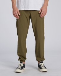 Adventure Division Collection Transport - Elasticated Trousers for Men  U1PT03BIF0