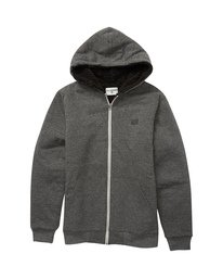 All Day Sherpa - Zip-Up Hooded Fleece for Boys  U2FL14BIF0