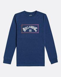Arch - Long Sleeve T-Shirt for Boys  U2LS02BIF0