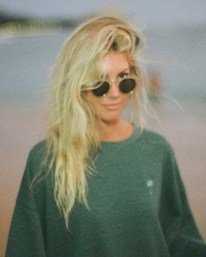 Salty Blonde Vacation Mode - Sweatshirt for Women  U3CR31BIF0