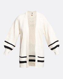 Between The Lines - Knitted Cardigan for Women  U3JP11BIF0