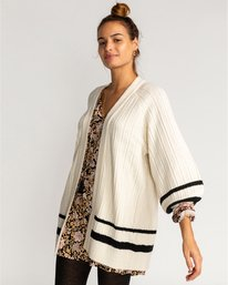 Between The Lines  - Knitted Cardigan for Women  U3JP11BIF0
