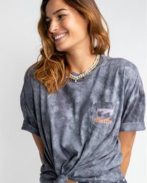 Rough Waves - High Neck Top for Women  U3KT01BIF0