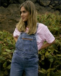 Basic Beach - Denim Dungarees for Women  U3PN06BIF0