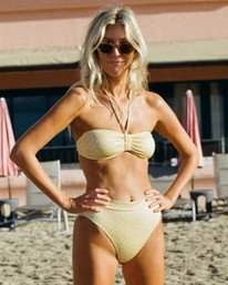 Salty Blonde Sundipped Rise  - Bikini Bottoms for Women  U3SB30BIF0
