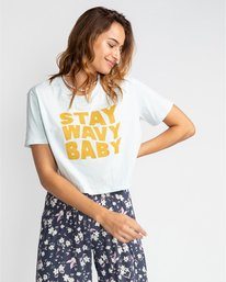 Stay Wavy - T-Shirt for Women  U3SS18BIF0