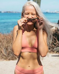 Sand Dunes Plunge - Bikini Top for Women  U3ST08BIF0