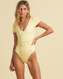 Salty Blonde Sundipped - One-Piece Swimsuit for Women  U3SW30BIF0