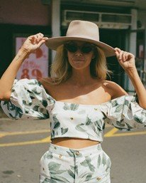 Salty Blonde Sun Glow  - Top for Women  U3TP31BIF0