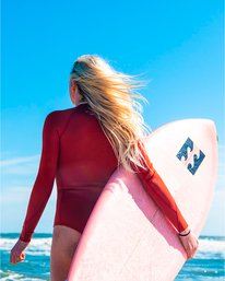 Surf Capsule Salty Dayz - Long Sleeve Springsuit for Women  U42G32BIF0