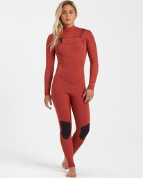 Surf Capsule 4/3mm Salty Dayz - Wetsuit for Women  U44G30BIF0