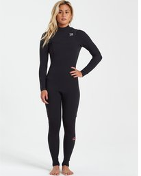 Furnace Carbon 4/3mm Comp GBS - Chest Zip Wetsuit for Women  U44G32BIF0