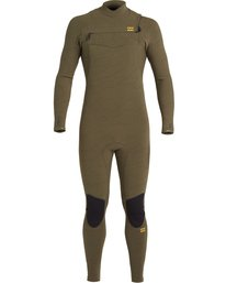 Furnace Comp 4/3mm GBS - Chest Zip Wetsuit for Men  U44M52BIF0