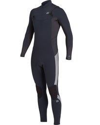 Absolute 4/3mm GBS - Chest Zip Wetsuit for Men  U44M60BIF0