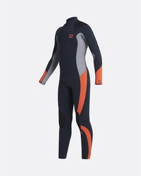 Absolute 5/4mm GBS - Back Zip Wetsuit for Boys  U45B12BIF0