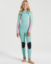 Synergy 5/4mm GBS  - Chest Zip Wetsuit for Girls  U45B30BIF0