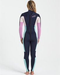 Synergy 5/4mm GBS - Back Zip Wetsuit for Women  U45G36BIF0