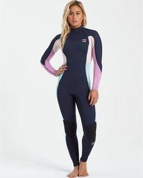 Synergy 5/4mm GBS - Back Zip Wetsuit for Women  U45G36BIF0