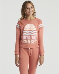 Lounge Life - Sweatshirt for Girls  U8CR03BIF0