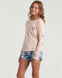 Catch A Wave - Long Sleeve Shirt for Girls  U8LS01BIF0