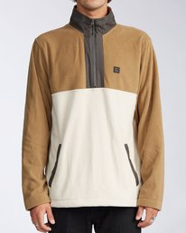 Boundary Mock Lite - Half Zip Polar Fleece for Men  V1FL04BIW0