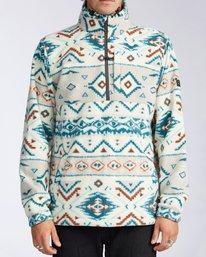 Boundary Mock Neck - Polar Fleece Jacket for Men  V1FL05BIW0