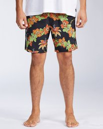 "Grinch Aloha Layback 17"" - Board Shorts for Men  V1LB03BIW0"