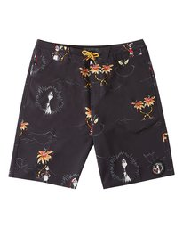 Grinch Aloha Mini - Board Shorts for Boys  V2BS01BIW0