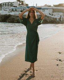 Shorebreak - Midi Wrap Dress for Women  V3DR10BIMU