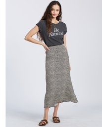 Flirty Daze - High Waist Midi Skirt for Women  V3SK01BIW0