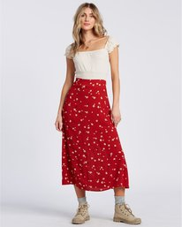 Flirty Daze - Midi Skirt for Women  V3SK02BIW0