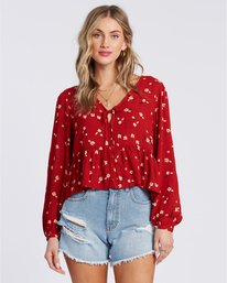 After Dark - Long Sleeve Blouse for Women  V3TP07BIW0