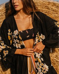 Breezy Bay - Kimono Top for Women  V3TP11BIMU