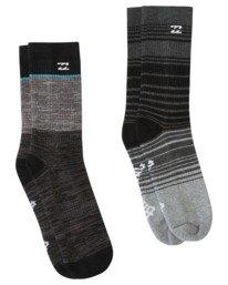 All Day Stripe - Crew Socks for Men  V5SO12BIW0