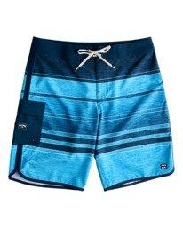 """73 Stripe Pro 19"""" - Board Shorts for Men  W1BS43BIP1"""