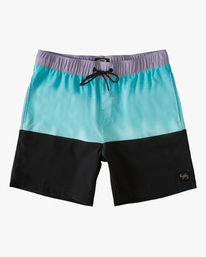 "Fifty50 Layback 17"" - Recycled Board Shorts for Men  W1LB03BIP1"